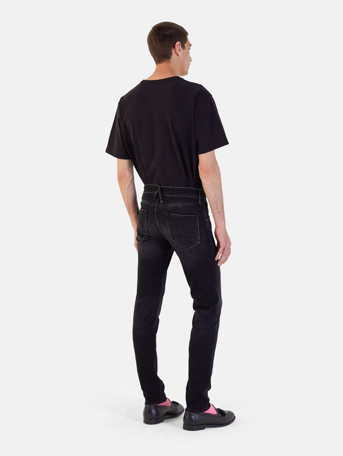 TOUCH STRETCH SKINNY REAL VINTAGE NERO