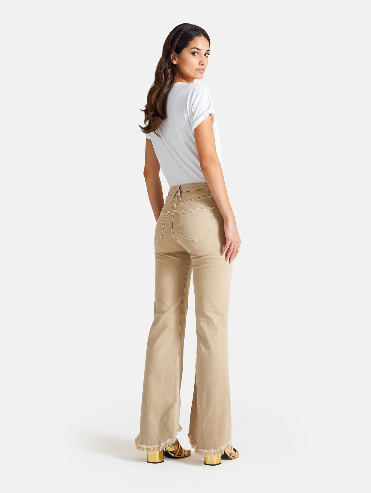BELL BOOTCUT OLD DYED KHAKI