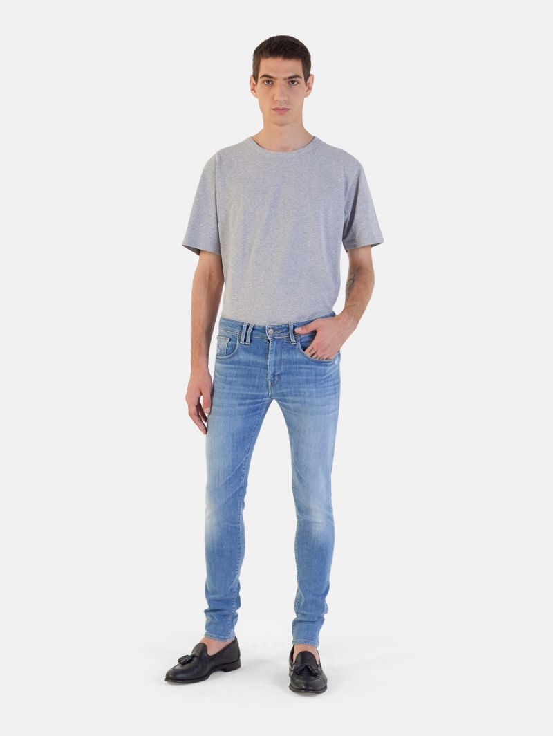 TOUCH STRETCH SKINNY REAL VINTAGE LIGHT BLUE