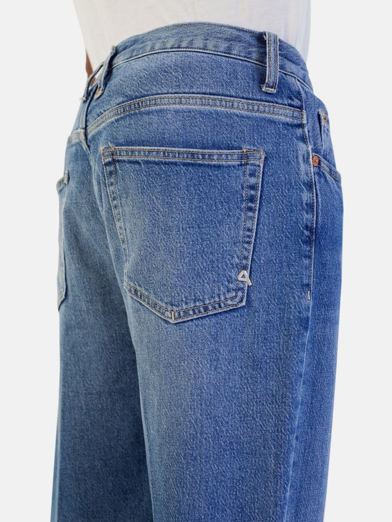 LUCKY REGULAR ANKLE HEAVY TREATED REAL VINTAGE BLUE