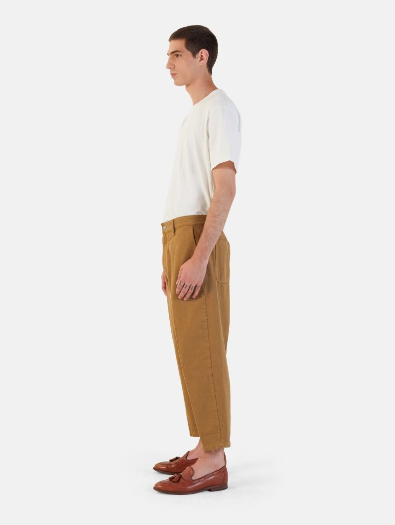 YOUNG CHINO RIGID OVER ANKLE GARMENT DYED VOLPE