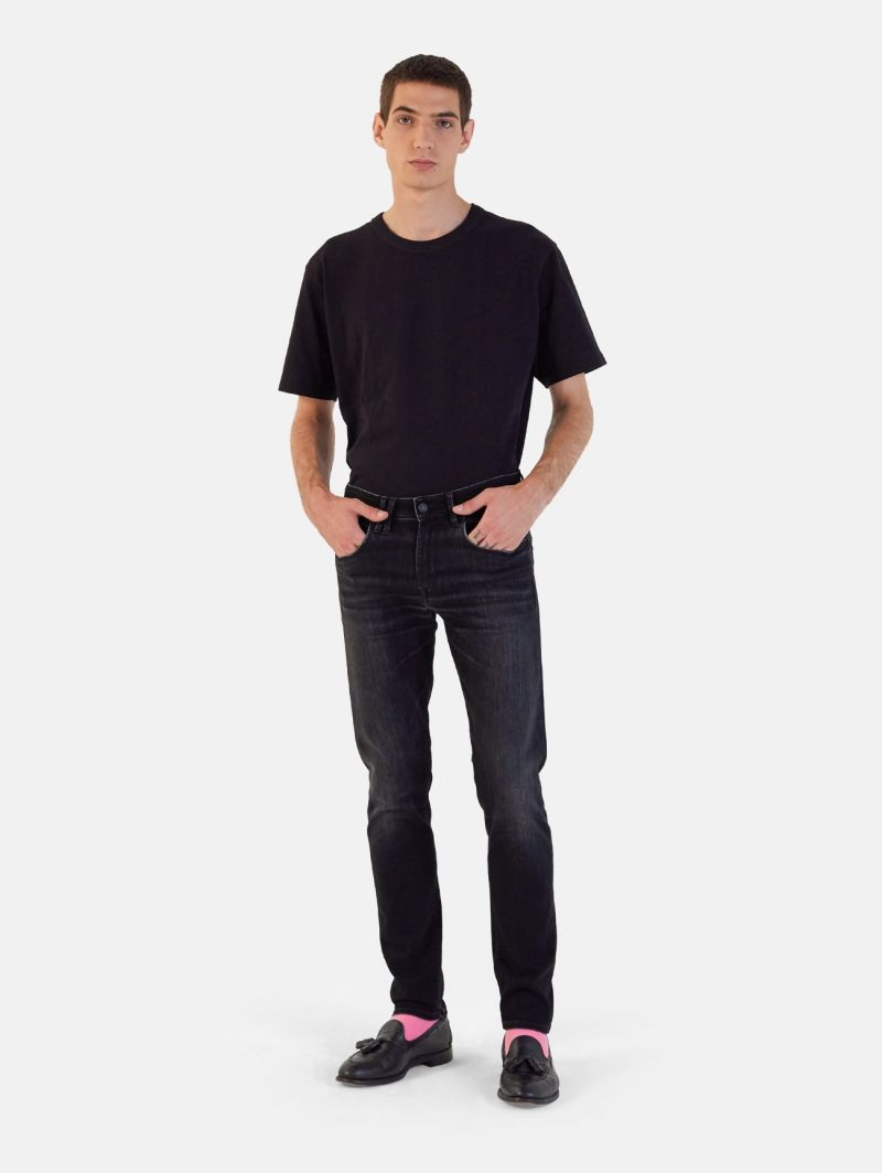 TOUCH STRETCH SKINNY REAL VINTAGE BLACK