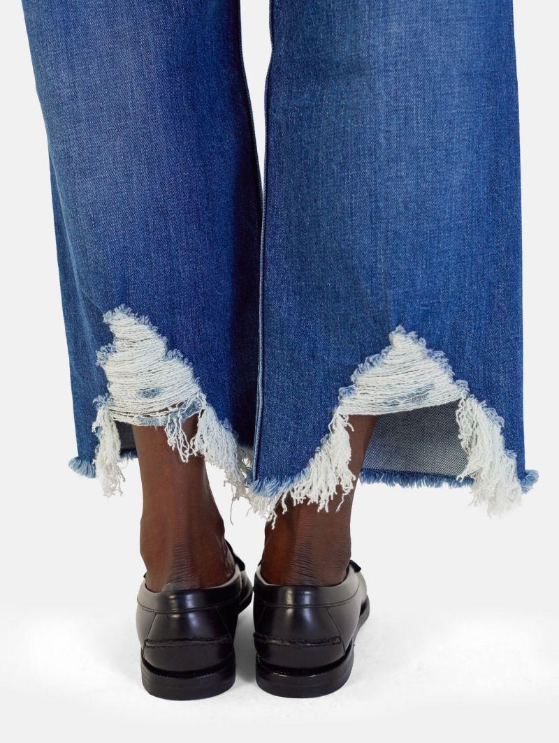 RIGHT STRAIGHT LEG MEDIUM VINTAGE DESTROYED NAVY BLUE