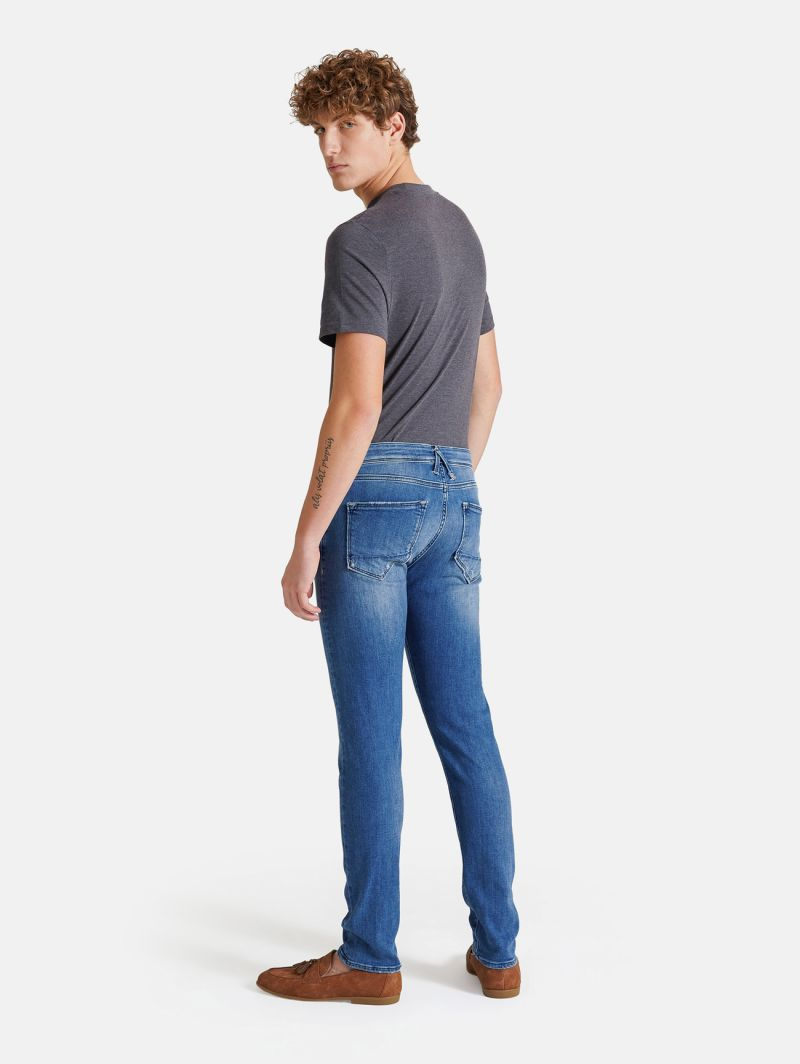 TOUCH STRETCH SKINNY MEDIUM VINTAGE NAVY BLUE